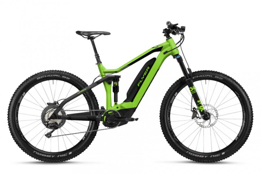 Flyer mountainbikes – verschillende modellen en kleuren